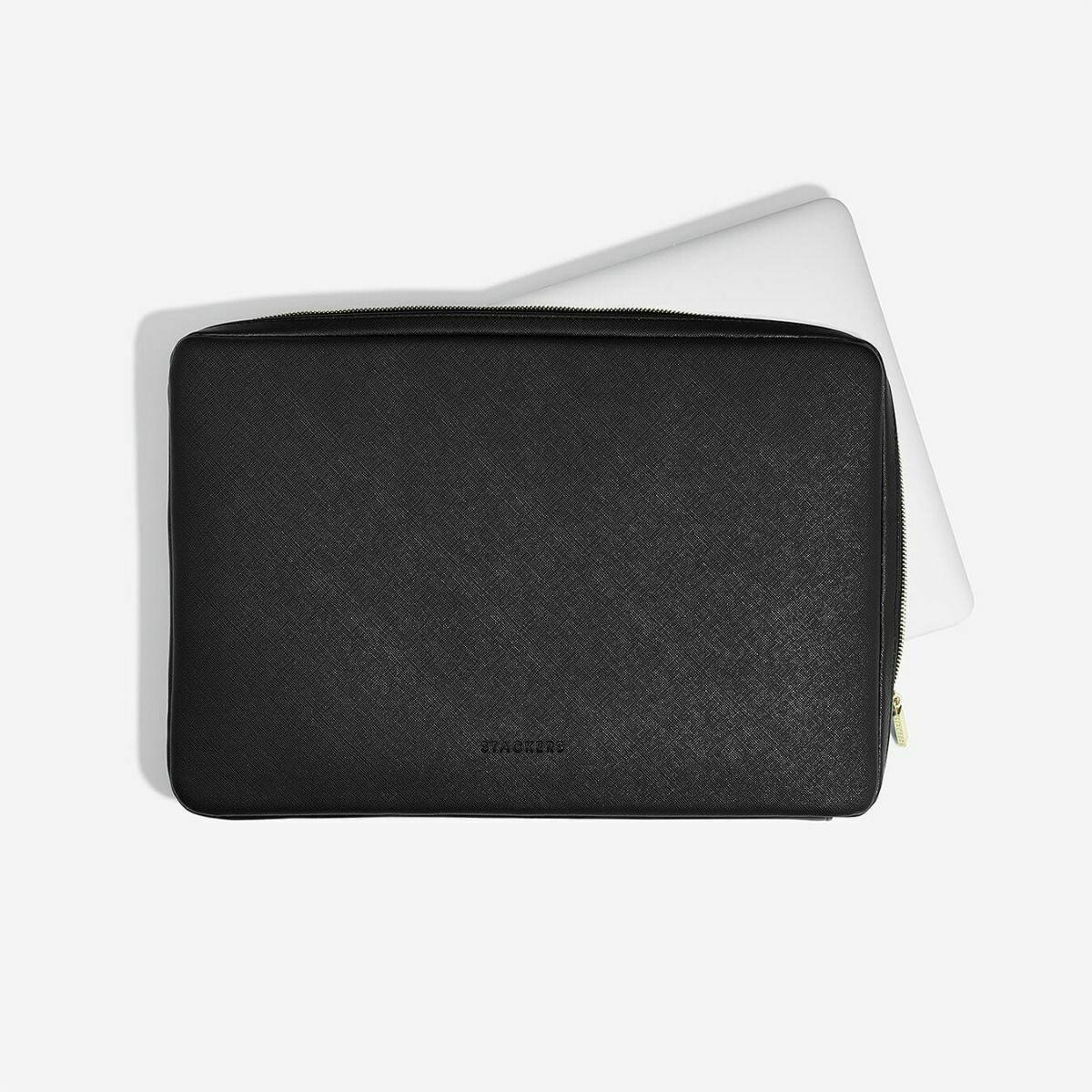 Custodia sleeve per pc laptop Stackers nero