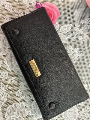 Portafoglio wallet nero Camomilla