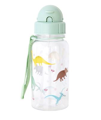 Bottiglia plastica dinosauro