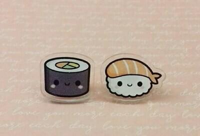 Coppia orecchini  sushi - Maki