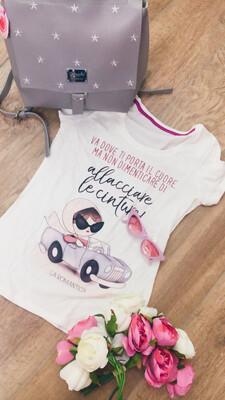 T-shirt taglia M le pupette la Romantica