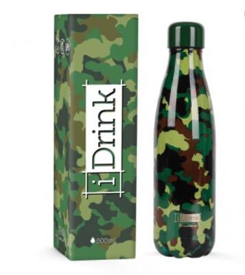 Bottiglietta termica verde militare