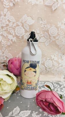Bottiglietta termica Le pupette wonderwoman