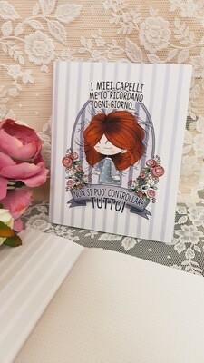 Quaderno Le Pupette Capelli rossi