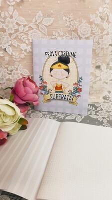 Quaderno Le Pupette Wonderwoman