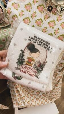 Asciugamano in spugna Le Pupette Canditi