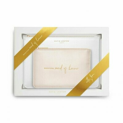 Set pochette Testimone Damigella onore Maid of honor  - Katie Loxton 592