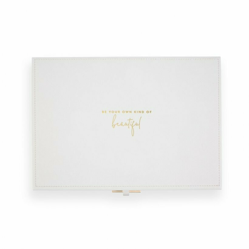 Portagioie bianco - Be your own kind of beautiful -  Katie Loxton 1627