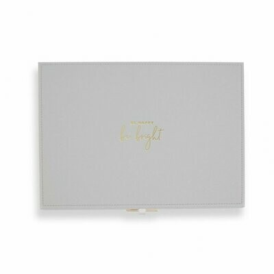 Portagioie celeste - Be Happy Be Bright -  Katie Loxton 1629