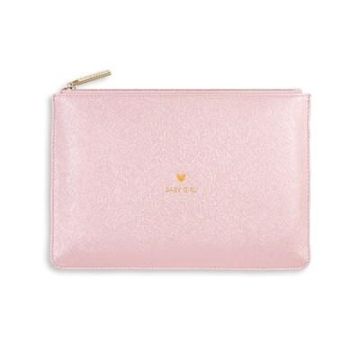 Pochette rosa metallico Baby Girl - Katie Loxton 492