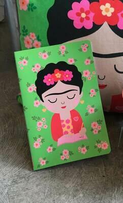 Quaderno formato A5 Frida Kahlo