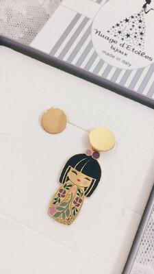 Orecchini Kokoro Nuage d'Etoiles Kazuko
