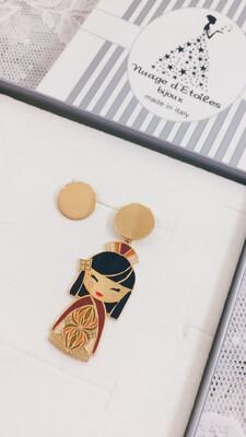 Orecchini Kokoro Nuage d'Etoiles Keiko