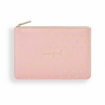 Pochette rosa Fabulous Friend  vers. ecosostenibile - Katie Loxton 1603