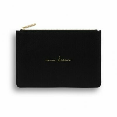 Pochette nera Beautiful dreamer  vers. ecosostenibile - Katie Loxton 1606