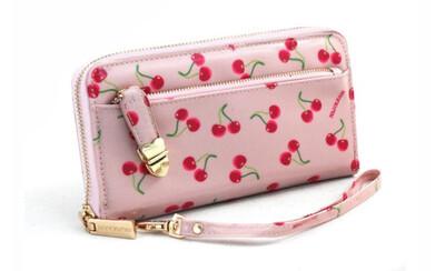 Portafoglio Naj-Oleari Cherry rosa