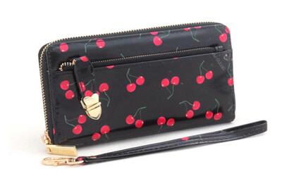 Portafoglio Naj-Oleari Cherry nero