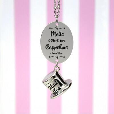 Collana Alice - Matto come un cappellaio Mad Tea AWC040