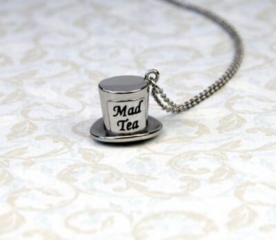 Collana Alice - Cilindro del Cappellaio Matto Mad Tea AWC041