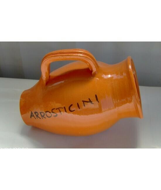 Porta arrosticini: contenitore in coccio
