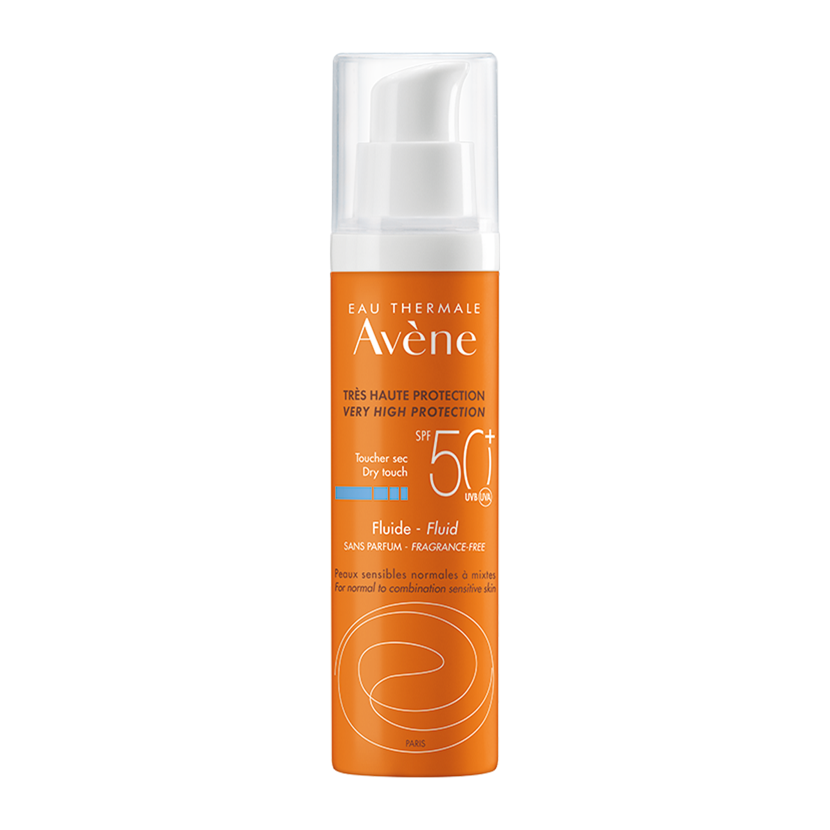 Eau Thermale Avène Sonnenfluid ohne Duftstoffe SPF50+
