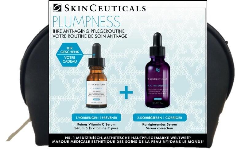 Skinceuticals X-Mas Geschenkset PLUMPNESS - für pralle Haut