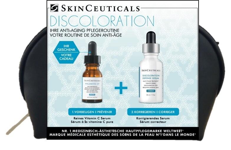 Skinceuticals X-Mas Geschenkset DISCOLORATION - gegen Pigmentflecken