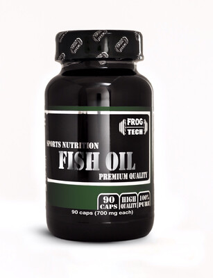 Fish oil 35% omega-3 90 капсул Рыбий жир frogtech купить