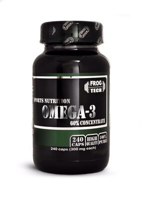 Omega 3 60% CONCENTRATE 240 капсул Омега 3, 6, 9 полезные жирные кислоты купить