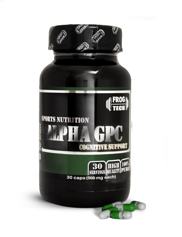 Alpha GPC 30 капсул по 500 мг альфа-глицерофосфохолин  -прекурсор ацетилхолина купить