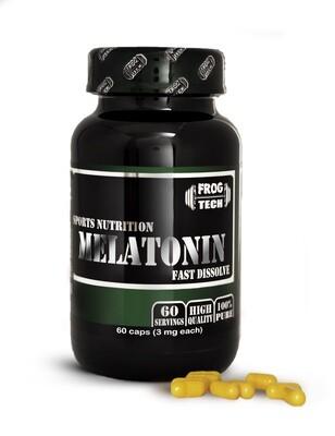 MELATONIN 60 капсул (10 мг в капсуле) Мощный курс мелатонина купить