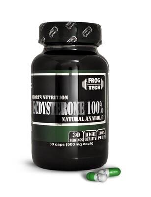 Ecdysterone 100% 30 капсул Мощный курс экдистерона аж 500мг 100% экдистена купить