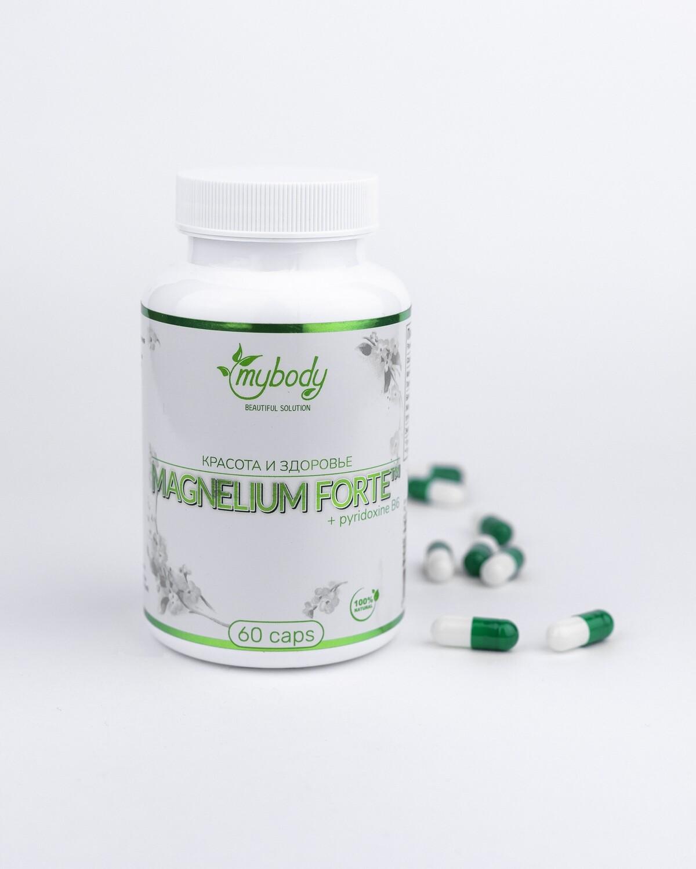MY BODY MAGNESIUM + B6 60 CAPS (магний + витамин В6 60 капс)