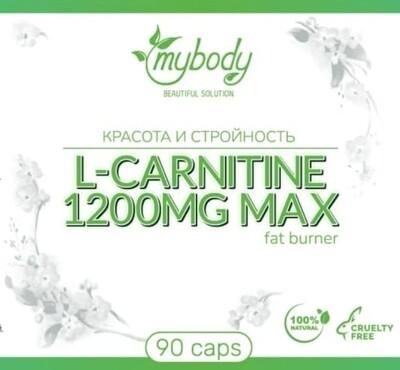 MY BODY L-CARNITINE 1200MG MAX 90CAPS ( л-карнитин 90 капс )