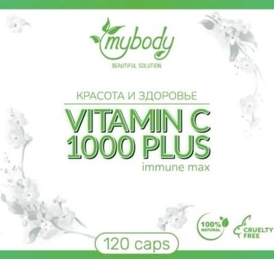 MY BODY VITAMIN C 1000 PLUS 120CAPS ( витамин Ц 120 капс )