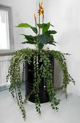 Kukkatynnyrit/kasvitynnyrit tekokasveilla