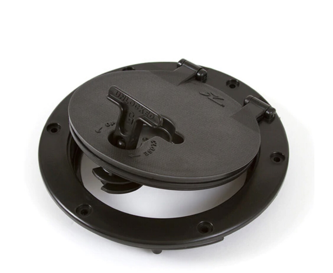 "Twist-N-Seal Hatch Kit 6"" Circular"