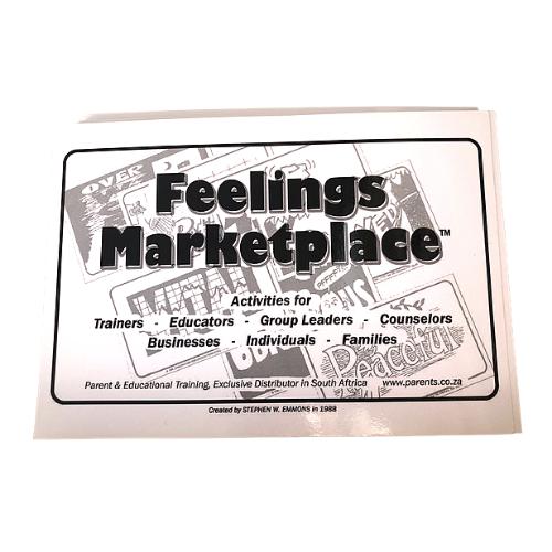 Feelings marketplace Cards (100+ feelings cards)
