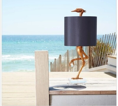 Like an Ostrich table lamp