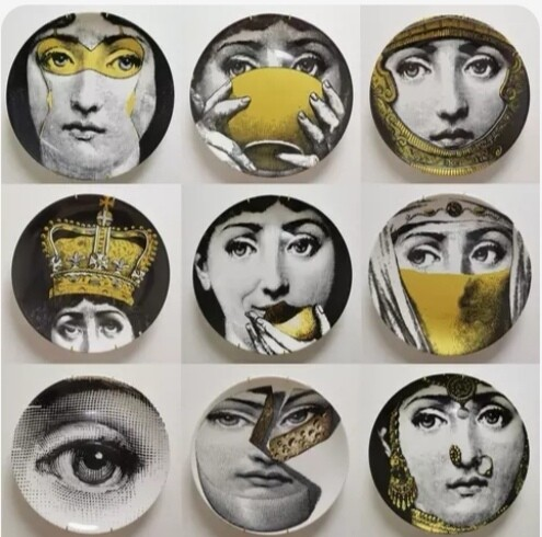 Fornasetti decorative plate