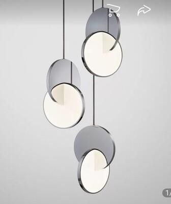 Deco field light (pendant light fixture.)