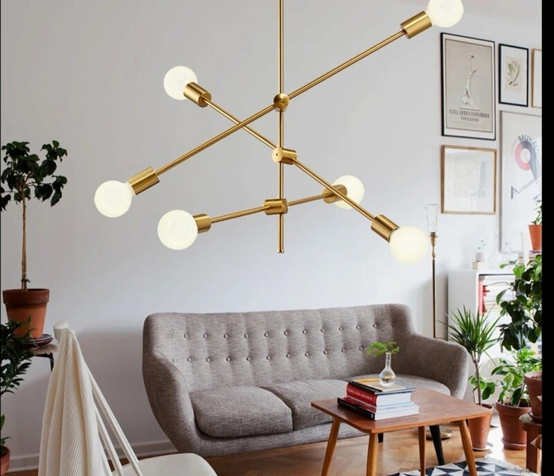 1/2/4/6  Sputnik chandelier