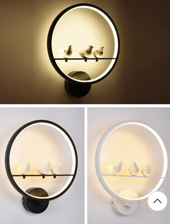 What's up birdies decorative light