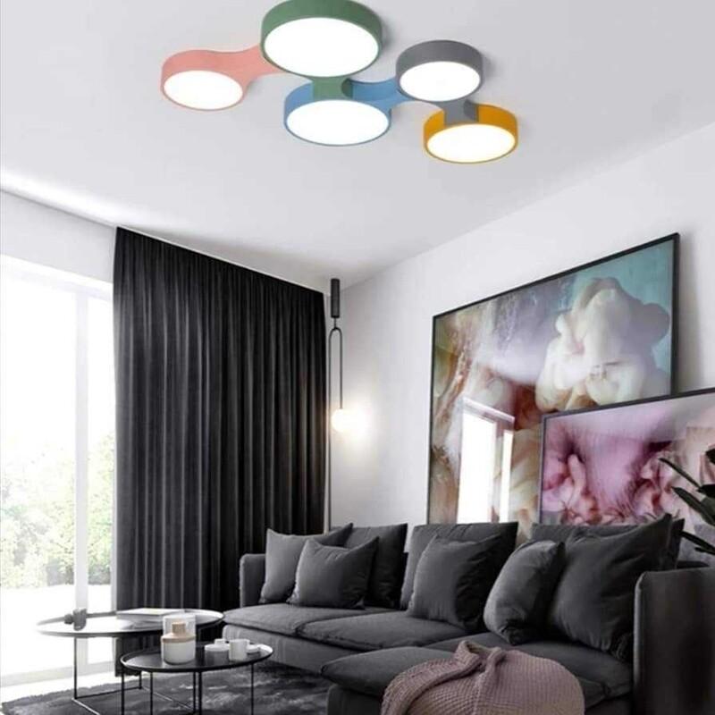 Domino ceiling light