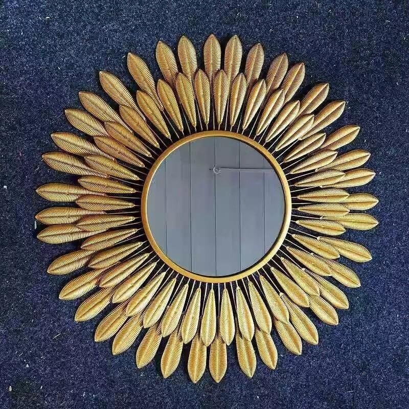 Sunflower decorative mirror