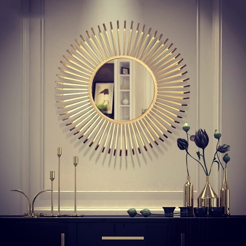 Reflexion decorative mirror