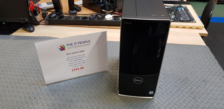 REFURBISHED - Dell Inspiron 3668