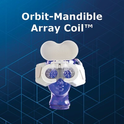 Orbit Mandible Array MRI Coil