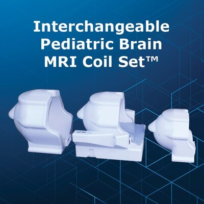 Pediatric Interchangeable Brain MRI Coil Set