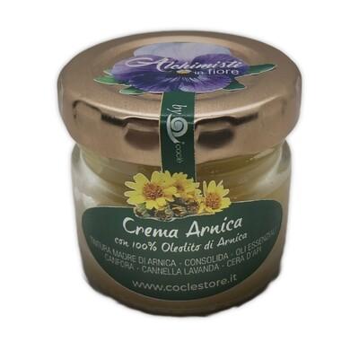 CREMA ARNICA - con 100% Oleolito di Arnica - 30ml